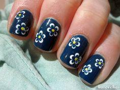 Little flowers using dotting tool - Małe kwiatki - Basevehei - YouTube