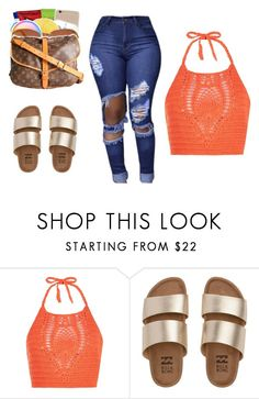 """""""Untitled #123"""" by camerondash86 on Polyvore featuring New Look and Billabong"""