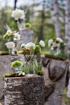 Woodland Wedding Flowers