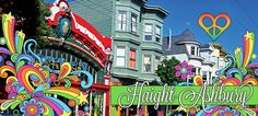 Haight-Ashbury district of San Francisco