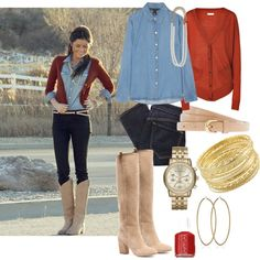 Fall Country Outfit - Polyvore