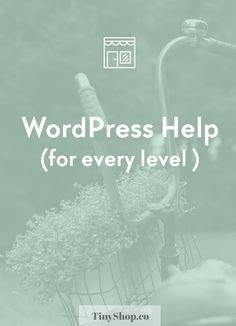 WordPress help for every level // Get instant access to FREE courses and tutorials for every WordPress situation. Click through for all kinds of video tutorials and free walkthroughs.