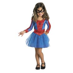 Spider-Girl Toddler Halloween Costume........Maddy would love this :)