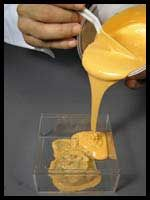 CopyFlex™ is a food grade, liquid silicone rubber that was designed specifically for mold making.