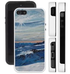 'Sherbet on Mt Herbert' iPhone Case - profit to artist Nz Art, Winter Light, 5s Cases, Protective Cases, Art Gallery, Free Shipping, Iphone, Landscape, Artist