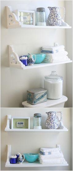 5 Proyectos de baño DIY que usted querrá Probar ahora
