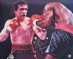 "My favorite boxer ever -- Ray ""Boom Boom"" Mancini!"