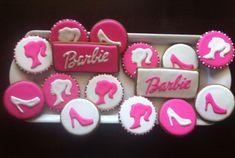 6th Birthday Parties, Birthday Bash, Girl Birthday, Birthday Party Decorations, Bolo Barbie, Barbie Cake, Barbie Cupcakes, Barbie Theme Party, Barbie Birthday Cake