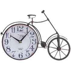 Metal Bicycle Clock