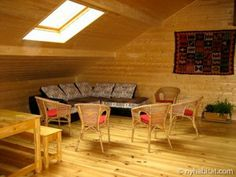 Surround yourself in the sweet scent of pine when you stay in this rustic Bed and Breakfast in the sweeping #French #Alps. http://www.nyhabitat.com/south-france-apartment/bed-breakfast/1017