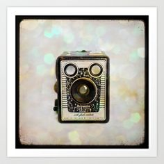 Bokeh Brownie Art Print by Squint Photography - $18.00