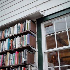 Outdoor Bookstore, via Flickr.