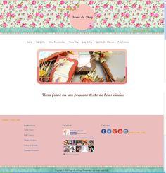 Blog com aparência de Site www.atelierlindalele.com.br http://atelierlindalele.iluria.com/