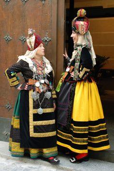 Trajes tradicionales de Segovia,Spain
