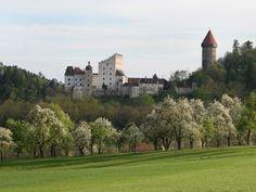 Burg Clam im Mühlviertel Innsbruck, Salzburg, Dalmatian, Bavaria, Austria, Around The Worlds, Mansions, House Styles, Outdoor