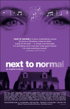 Next to Normal hands down the best. hope the local companies getting rights don't destroy it too much :(