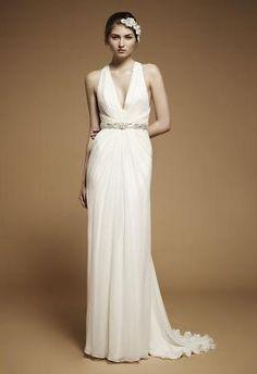 Grecian style by Jenny Packham #wedding #dress #ideas