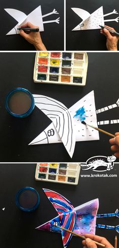 krokotak | Easy to make paper birds