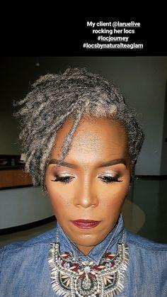Grey Hair Don't Care, Short Grey Hair, Gray Hair, Grey Hair Styles For Women, Natural Hair Styles, Short Hair Styles, Mom Hairstyles, Dreadlock Hairstyles, Silver White Hair