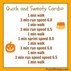 Quick Cardio Workout with Speed Intervals