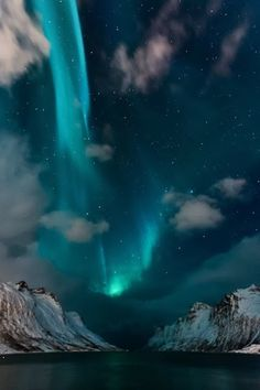 Northern Lights in Blue