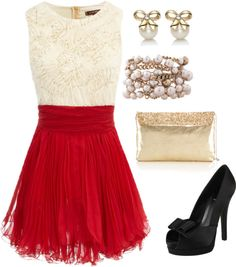 """Last Christmas I Gave You My Heart"" by lauranicole035 on Polyvore"