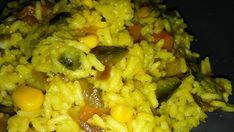 Vegánske rizoto Tahini, Salsa, Grains, Rice, Food, Essen, Salsa Music, Meals, Seeds