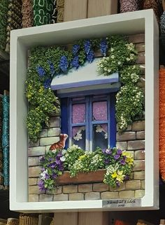 Bananapook: Mind-Blowingly realistic miniatures of Lebanese homes Chawki Yazbeck Miniature Rooms, Miniature Crafts, Miniature Fairy Gardens, Miniature Houses, Miniature Furniture, Shadow Box Kunst, Shadow Box Art, Shadow Box Frames, Box Houses
