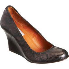 Camper Shoes Brown Weave Heel