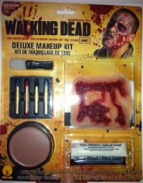 The Walking Dead Deluxe Costume Make Up Kit *FREE SHIPPING*