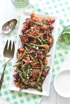 Roasted Vegetable and Quinoa Salad | Bev Cooks