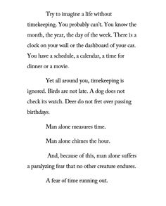 ― Mitch Albom, The Time Keeper