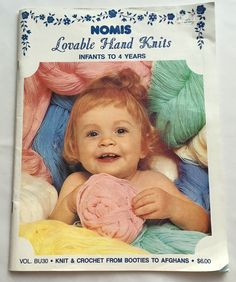 Vintage Nomis Lovable Hand Knits And Crochet For Infants To 4 Years From Booties to Afghans Bucilla by BlueHeavenVintage on Etsy