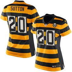 bf88d7e2850 Will Allen Women s Elite Gold Black Anniversary Jersey  Nike NFL Pittsburgh  Steelers Alternate Throwback. Nhl JerseysNick MangoldAntonio Brown ...