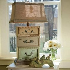 18 Incredible Ways To Repurpose Old Drawers • One Brick At A Time Diy Furniture Projects, Repurposed Furniture, Shabby Chic Furniture, Furniture Makeover, Chair Makeover, Furniture Refinishing, Furniture Hardware, French Furniture, Refurbished Furniture