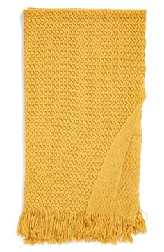 orange Nordstrom at Home 'Karina' Throw available at #Nordstrom