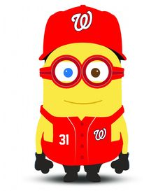 Meet Max Scherzer, Bryce Harper and the MLB all-star Minions