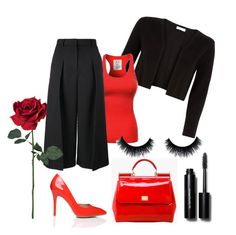 Be my Valentine ❤️ by renicherie on Polyvore featuring polyvore, fashion, style, Monsoon, Erdem, Dolce&Gabbana, Bobbi Brown Cosmetics, women's clothing, women's fashion, women, female, woman, misses and juniors