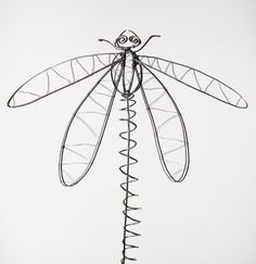 wire dragonfly