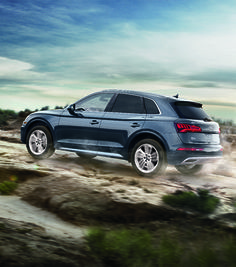 2018 Audi Q5 on the move