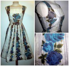 http://www.ebay.co.uk/itm/STUNNING-AUTHENTIC-VINTAGE-1950S-50S-ROSE-PRINT-COTTON-DRESS-26-034-WAIST-/381161824071?