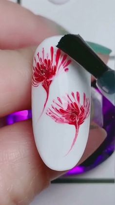Nail art Christmas - the festive spirit on the nails. Over 70 creative ideas and tutorials - My Nails Nail Art Hacks, Nail Art Diy, Diy Nails, Fancy Nails, Nail Art Designs Videos, Nail Art Videos, Coffin Nails, Acrylic Nails, Neue Tattoos