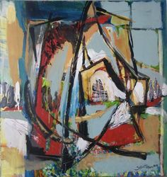 Painting Constructive desire Abstract Art, Paintings, Kunst, Paint, Painting Art, Painting, Drawings, Pictures, Illustrations