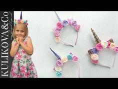 Diy Fashion Hacks, Unicorn Ornaments, Diy Hair Bows, Diy Hairstyles, Little Pony, Fabric Flowers, Crochet Necklace, Embroidery, Christmas Ornaments