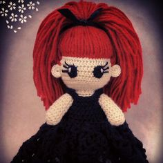 #Crochet_doll #voodoo #voodoodoll https://www.etsy.com/listing/252354572/evilyn-crochet-voodoo-doll?ref=shop_home_active_9