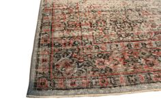 Overdyed Vintage Hand Woven Turkish Rug  5.74 by ArtcoreIstanbul, $875.00