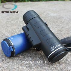Lixada Prism/áticos Portable//Monocular Telescopio para Caza Deportes al Aire Libre