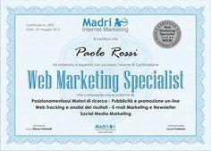 Corso Nazionale di Web Marketing Operativo Avanzato