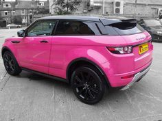My Honda Element This Color Pink Range Rovers