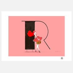 Rosa Print 100x70, £125, now featured on Fab.